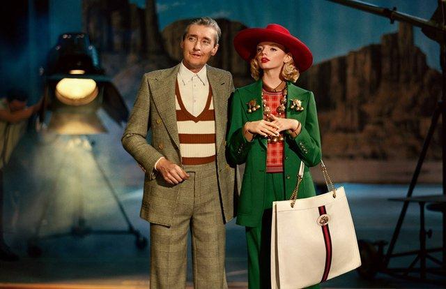 Gucci присвятили нову рекламу золотій епосі Голлівуду - фото 306519
