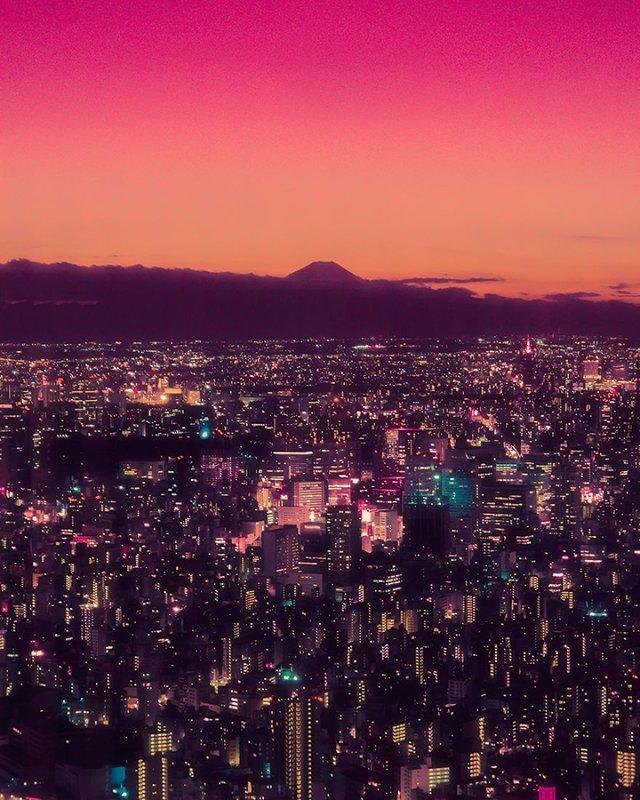 Нереальна краса Токіо вночі: фото, які варто побачити - фото 306540