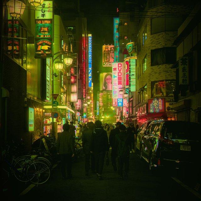 Нереальна краса Токіо вночі: фото, які варто побачити - фото 306545