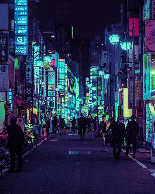 Нереальна краса Токіо вночі: фото, які варто побачити - фото 306547