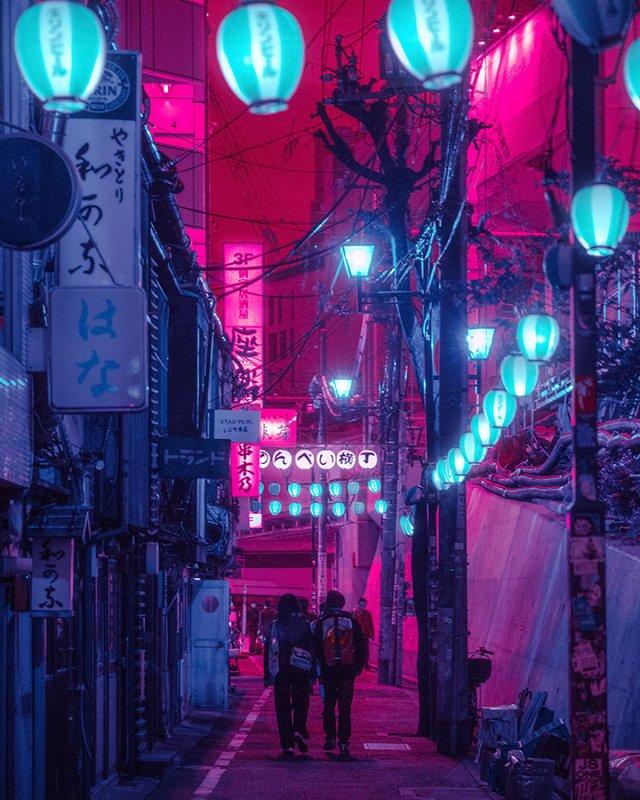 Нереальна краса Токіо вночі: фото, які варто побачити - фото 306549