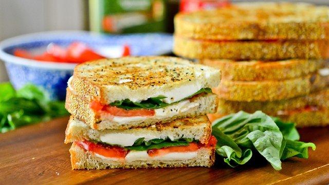 Бутерброди з цільнозернового хліба   - фото 306684