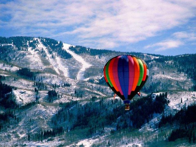 Казковий політ над горами - фото 306712