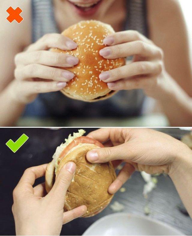 Як правильно їсти бургер і навіщо в ньому шпажка - фото 306746