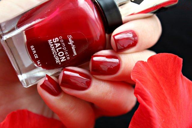 Червоний манікюр до Дня закоханих  - фото 306950