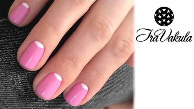 Рожевий манікюр до Дня закоханих  - фото 306961