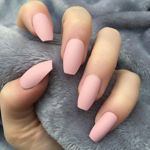 Ніжний рожевий манікюр  - фото 306962