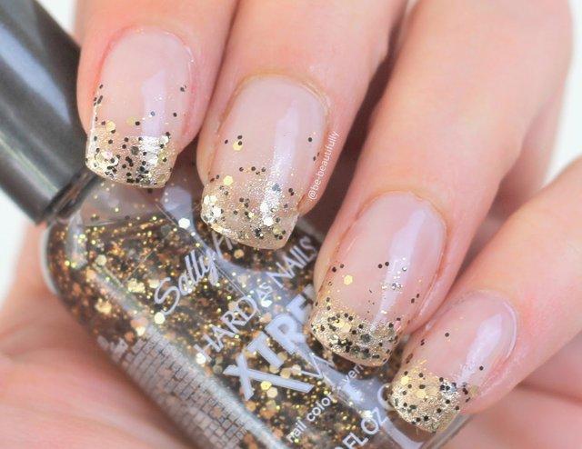 Ідея дизайну нігтів з блискітками  - фото 306969