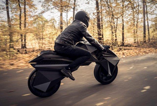У Німеччині на 3D-принтері надрукували електромотоцикл - фото 307005