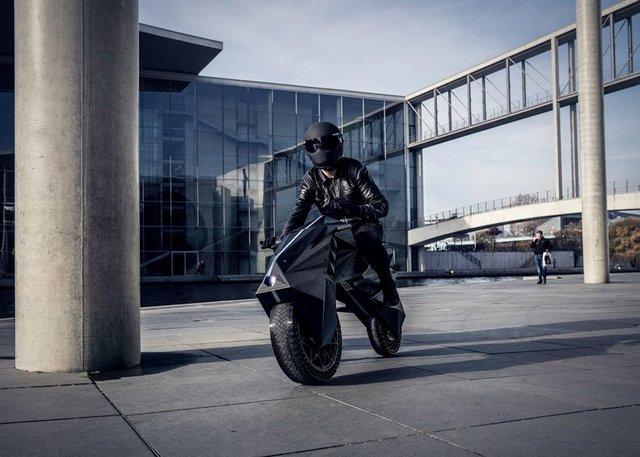 У Німеччині на 3D-принтері надрукували електромотоцикл - фото 307006