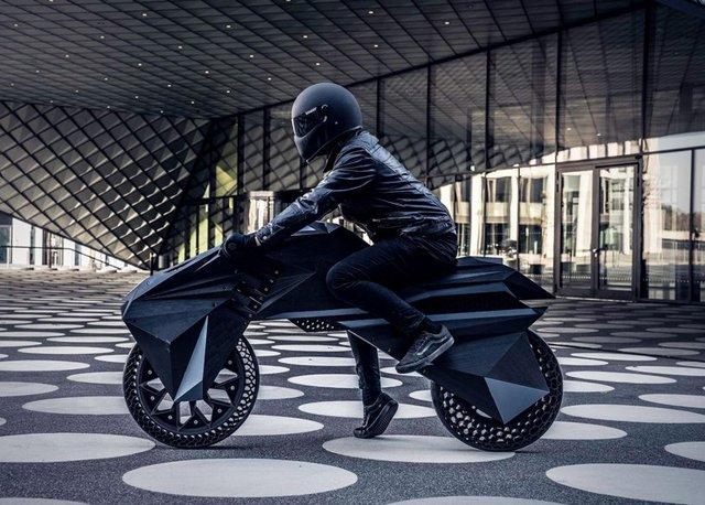 У Німеччині на 3D-принтері надрукували електромотоцикл - фото 307007