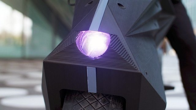 У Німеччині на 3D-принтері надрукували електромотоцикл - фото 307009