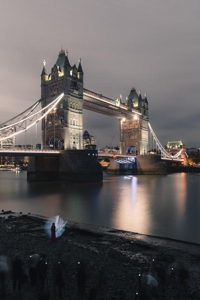Міські пейзажі Лондона, які заворожують: фото Натана Хендса - фото 307077