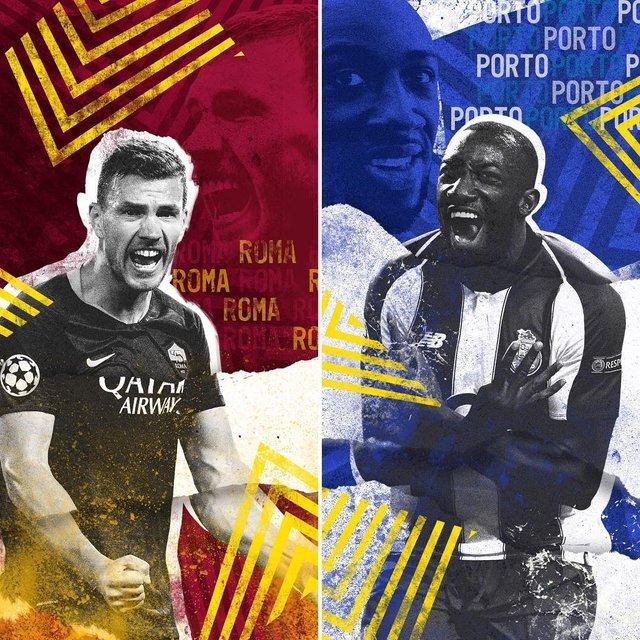 Roma vs Porto - фото 307166