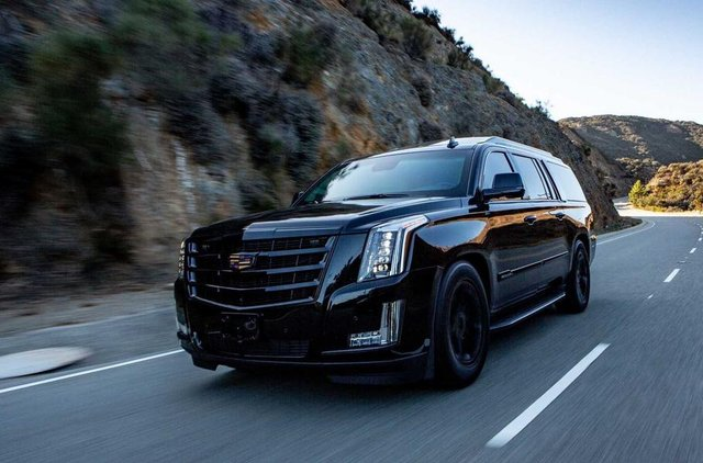 Представлено броньований Cadillac Escalade - фото 307253