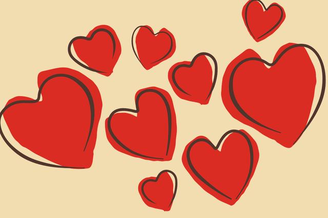 Сердечка валентинки - фото 307592