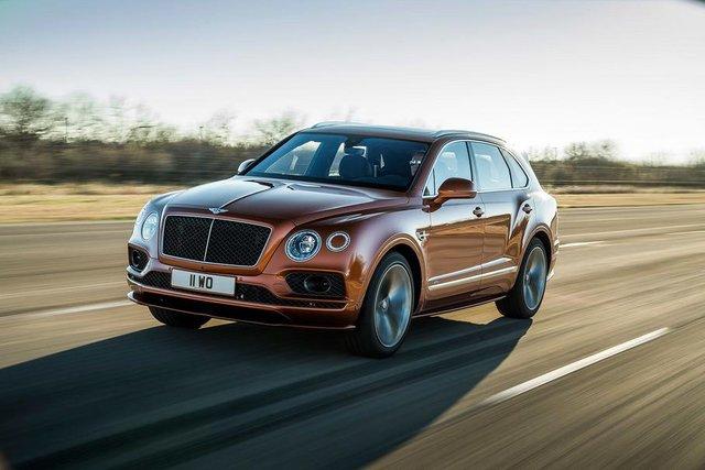 Bentley Bentayga став найшвидшим позашляховиком у світі - фото 307850