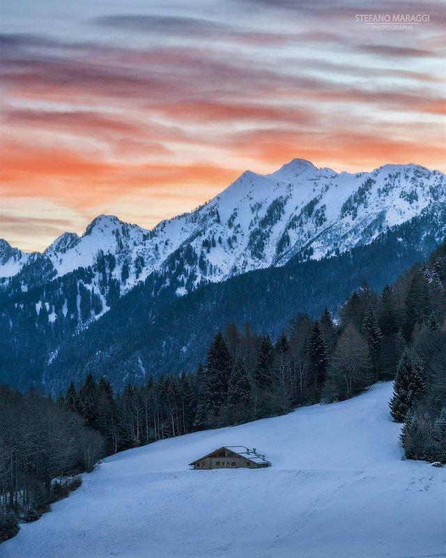 Відпочинок для душі: як виглядають взимку Доломітові Альпи - фото 307912