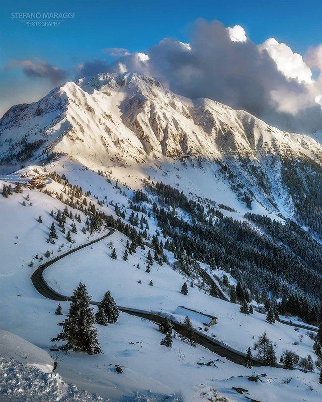 Відпочинок для душі: як виглядають взимку Доломітові Альпи - фото 307914