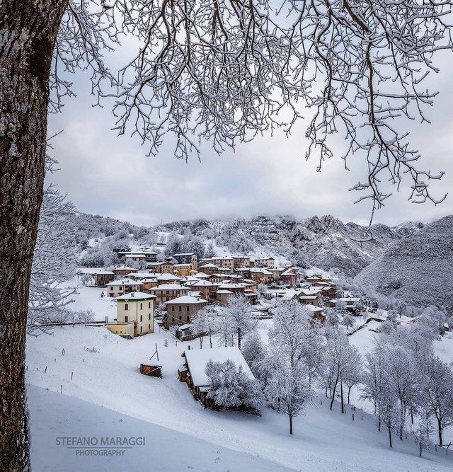 Відпочинок для душі: як виглядають взимку Доломітові Альпи - фото 307916