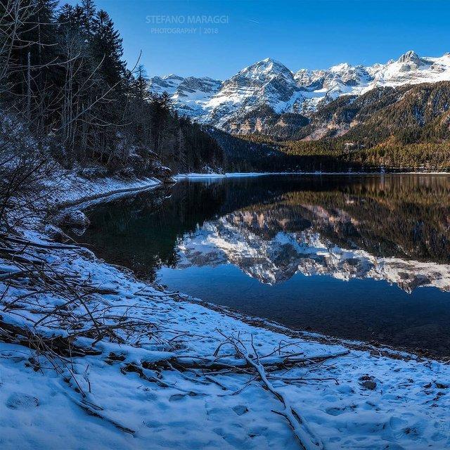 Відпочинок для душі: як виглядають взимку Доломітові Альпи - фото 307918