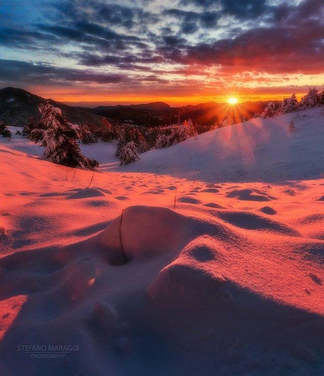 Відпочинок для душі: як виглядають взимку Доломітові Альпи - фото 307919