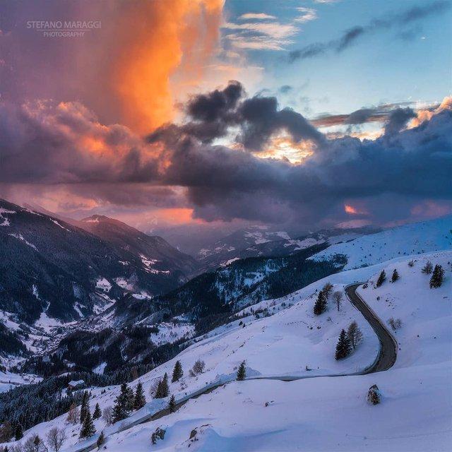 Відпочинок для душі: як виглядають взимку Доломітові Альпи - фото 307922