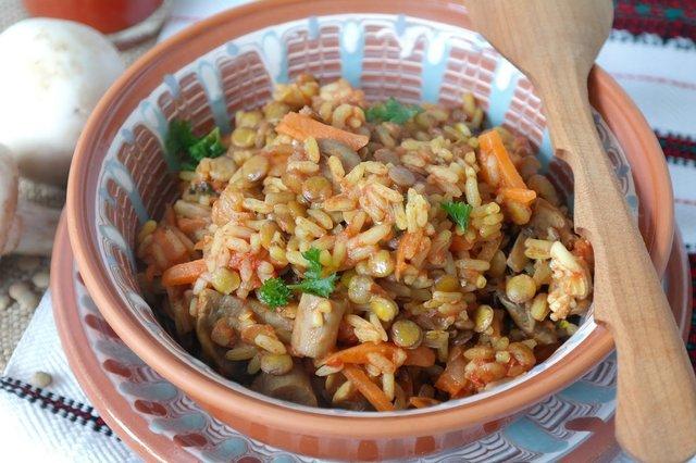 Вегетаріанський плов з овочами - фото 308163