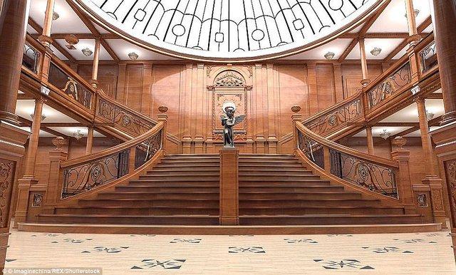 У мережі з'явилися перші знімки китайської копії Титаніка - фото 308388