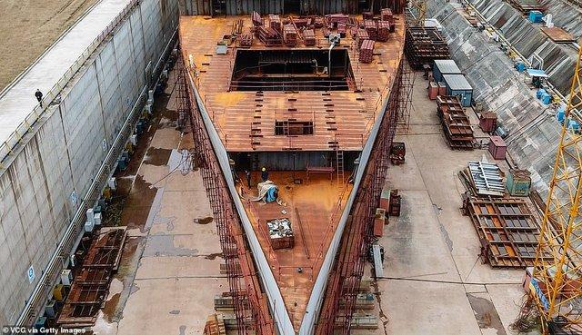У мережі з'явилися перші знімки китайської копії Титаніка - фото 308389