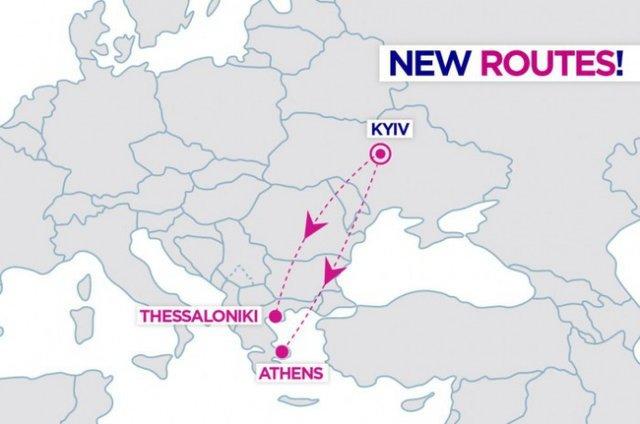 Нові рейси Київ-Салоніки та Київ-Афіни - фото 308655