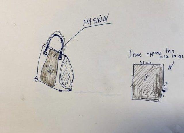 Ескіз сумочки - фото 308997