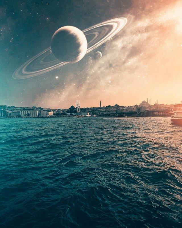 Турецький фотограф перетворює будні у фантастику: яскраві фото - фото 309582