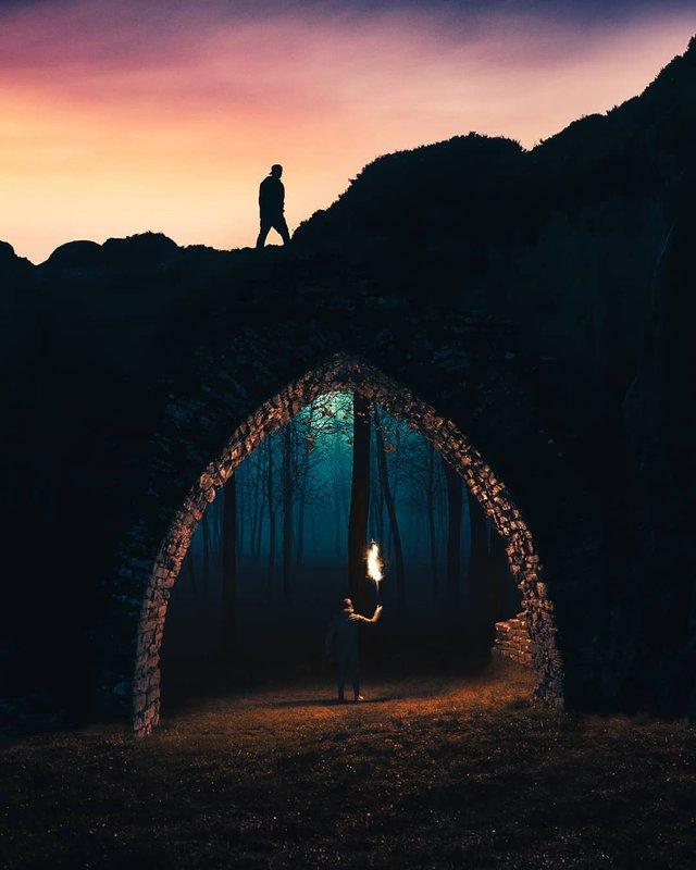 Турецький фотограф перетворює будні у фантастику: яскраві фото - фото 309594