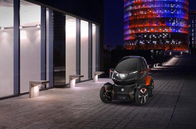 Seat представив футуристичний електричний квадроцикл - фото 309857