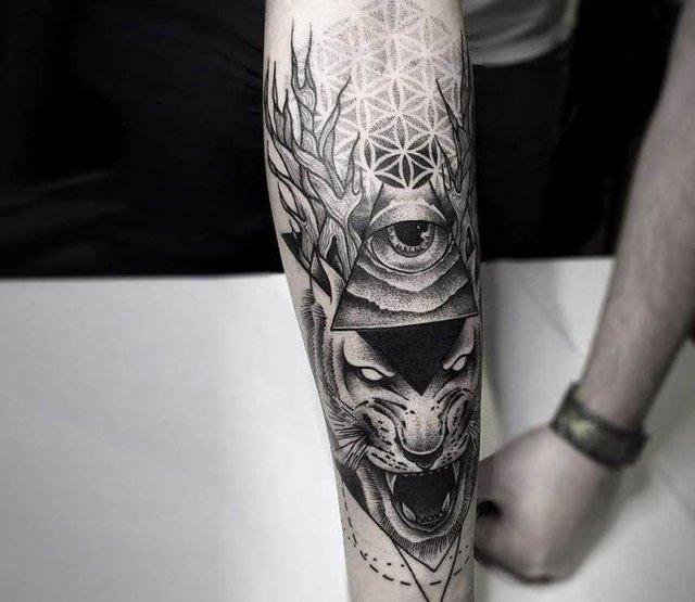Чоловічі татуювання 2019: ТОП ідей тату для чоловіків і хлопців у фото - фото 310560