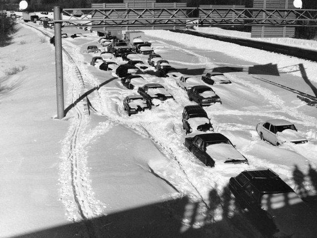 Наймасштабніші в історії автомобільні затори у фото - фото 310745