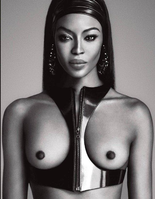 Моделі 90-х: як змінилася британська секс-бомба Наомі Кемпбелл (18+) - фото 310799