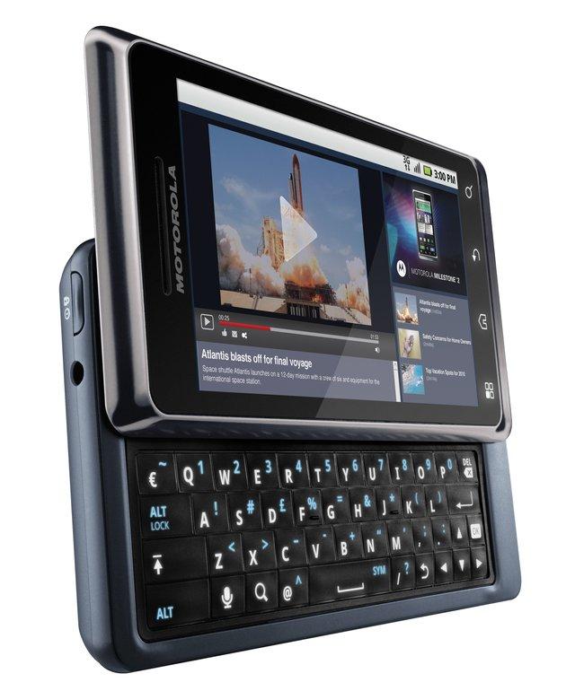 Смартфон з висувною механічною клавіатурою - фото 313208