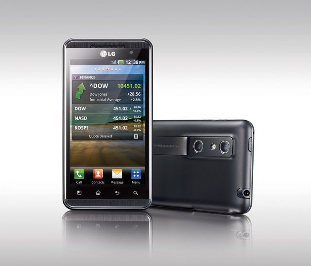 LG тоді показало смартфон з 3D - фото 313210