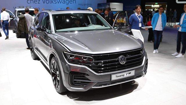 Презентовано VW Touareg з найпотужнішим дизелем в історії - фото 313341
