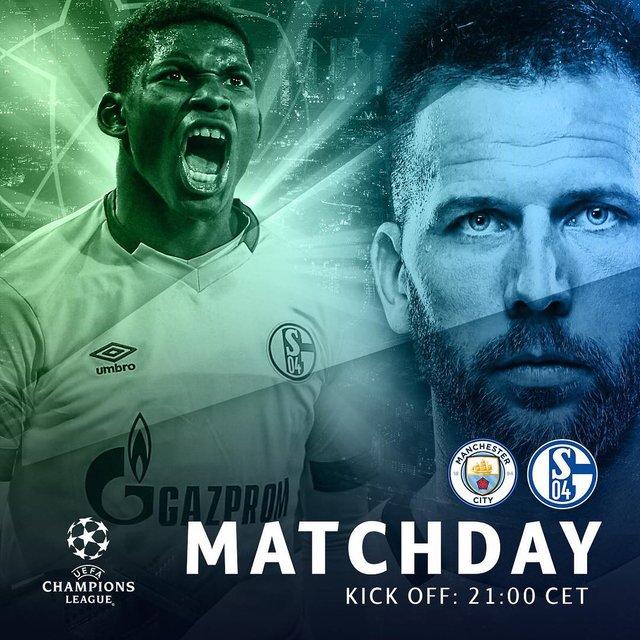 FC Schalke 04 - Manchester City - фото 313632