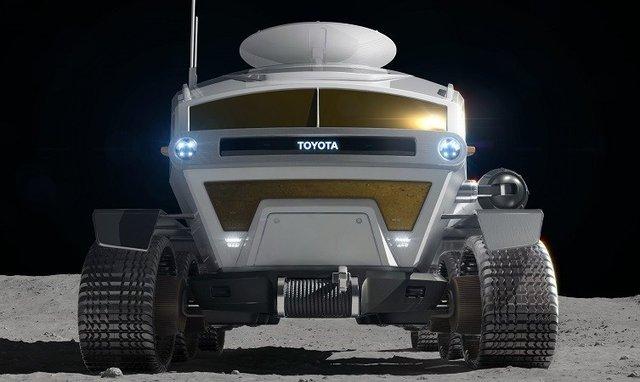 Toyota показала концепт автомобіля для Місяця - фото 313843