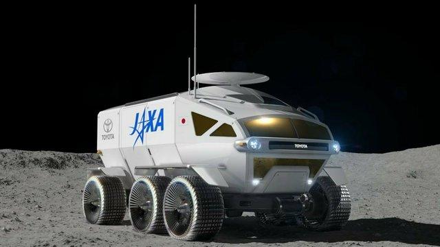 Toyota показала концепт автомобіля для Місяця - фото 313844