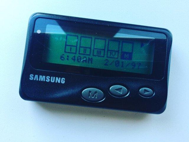 Samsung теж випускала пейджери - фото 313894