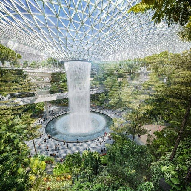 Цей аеропорт назвали найкрасивішим в світі ще до його відкриття - фото 313967