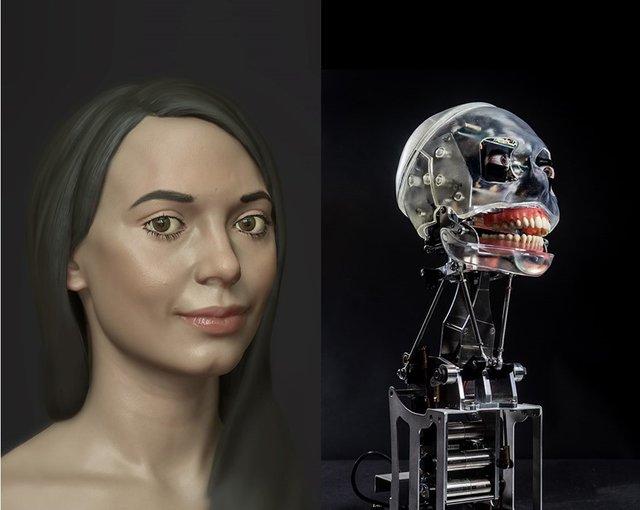 Робот-художниця - фото 314173