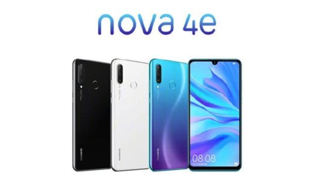 Huawei представила бюджетний смартфон Nova 4e - фото 314287