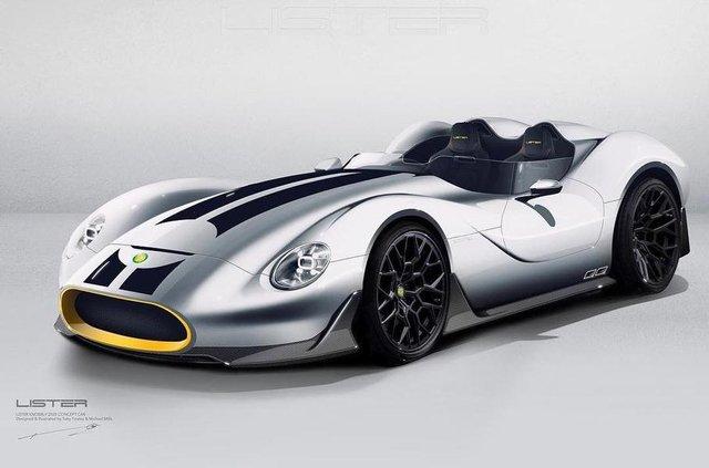 Британці показали зображення сучасного аналога спорткара 50-х - фото 314338