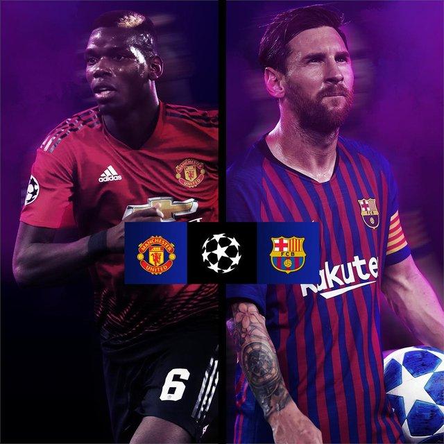 Manchester United v Barcelona - фото 314584